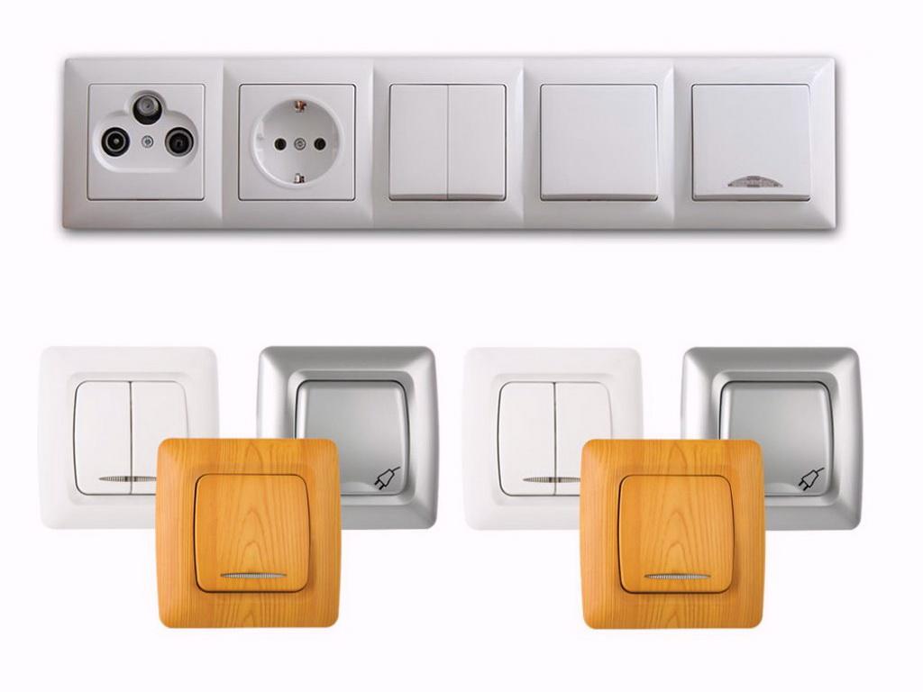 Prises et interrupteurs
