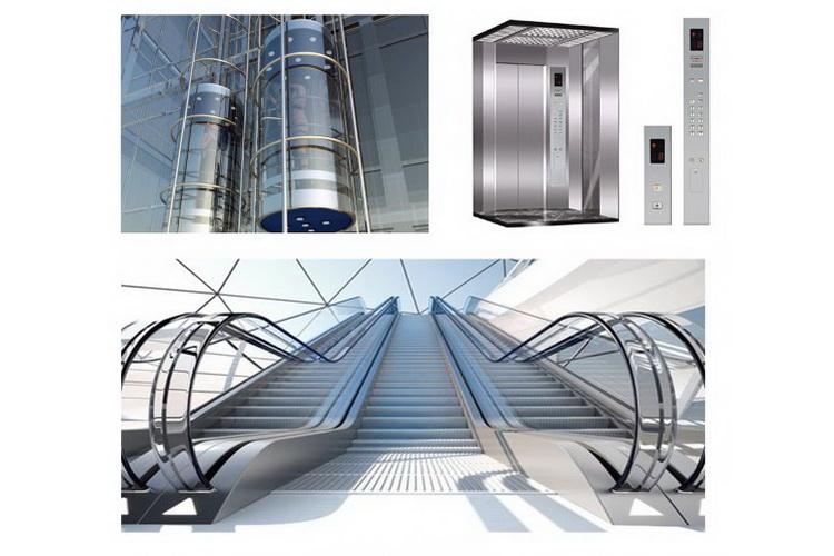 نظام المصاعد الميكانيكية و السلالم الكهربائية