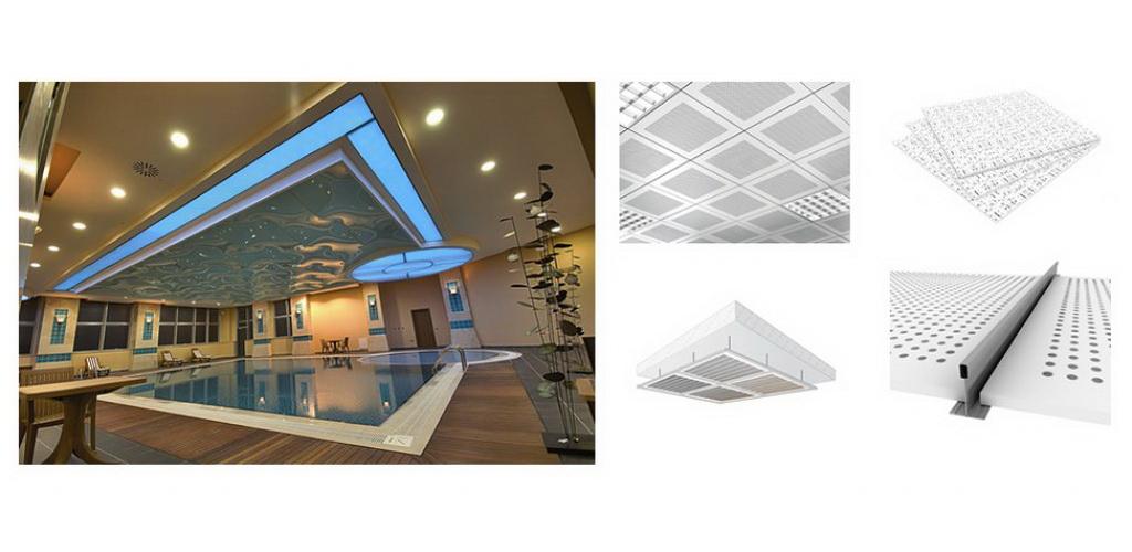 Systemes de Plafonds Suspendus