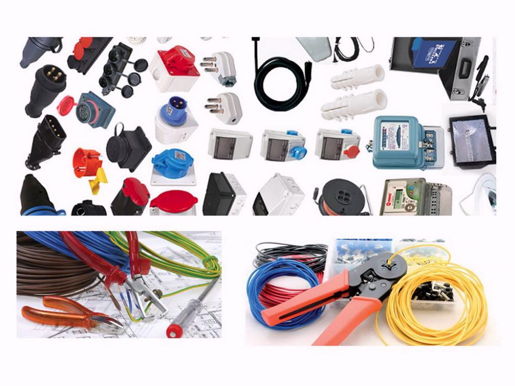 معدات التركيب الكهربائى