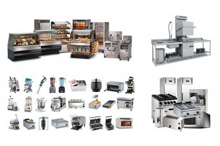 مواد و معدات المطابخ الصناعية