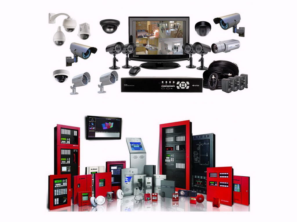 Security Systems And Fire Alarm Systems