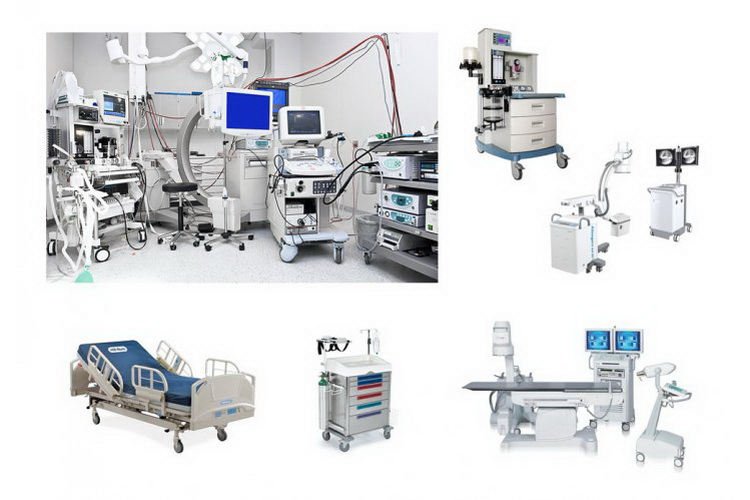 معدات و أجهزة طبية للمستشفيات