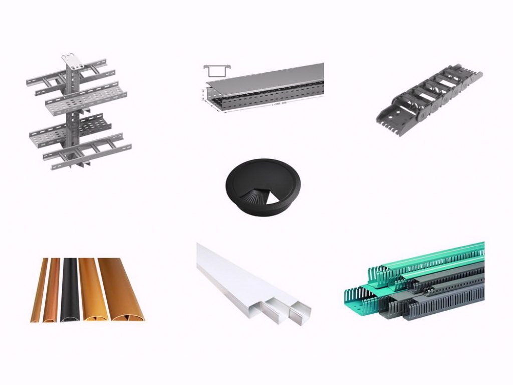 Cables Trunking and Mounting Systems