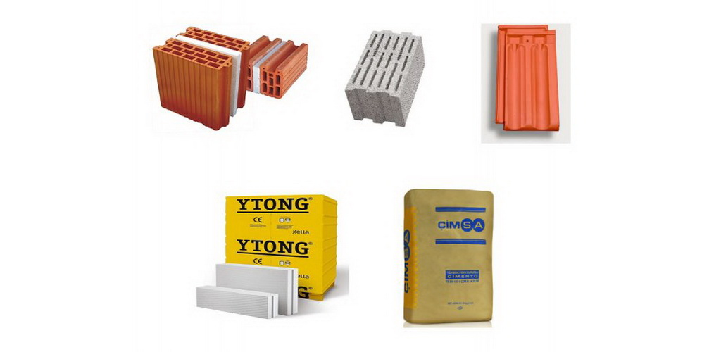 Roof Bricks, Ytong, Ciment, Gazbeton