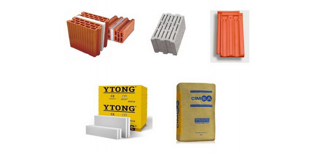 Briques pour toiture, Ytong, Ciment, Gazbeton