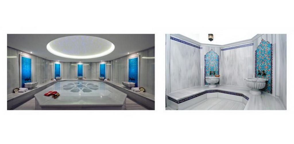 (كورنا (حوض بالرخام للحمامات التركية
