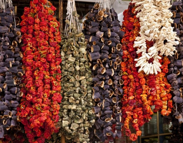 Dried Vegetables