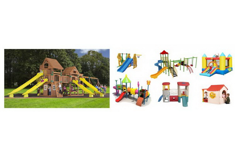 حدائق ساحات و منتزهات للعب