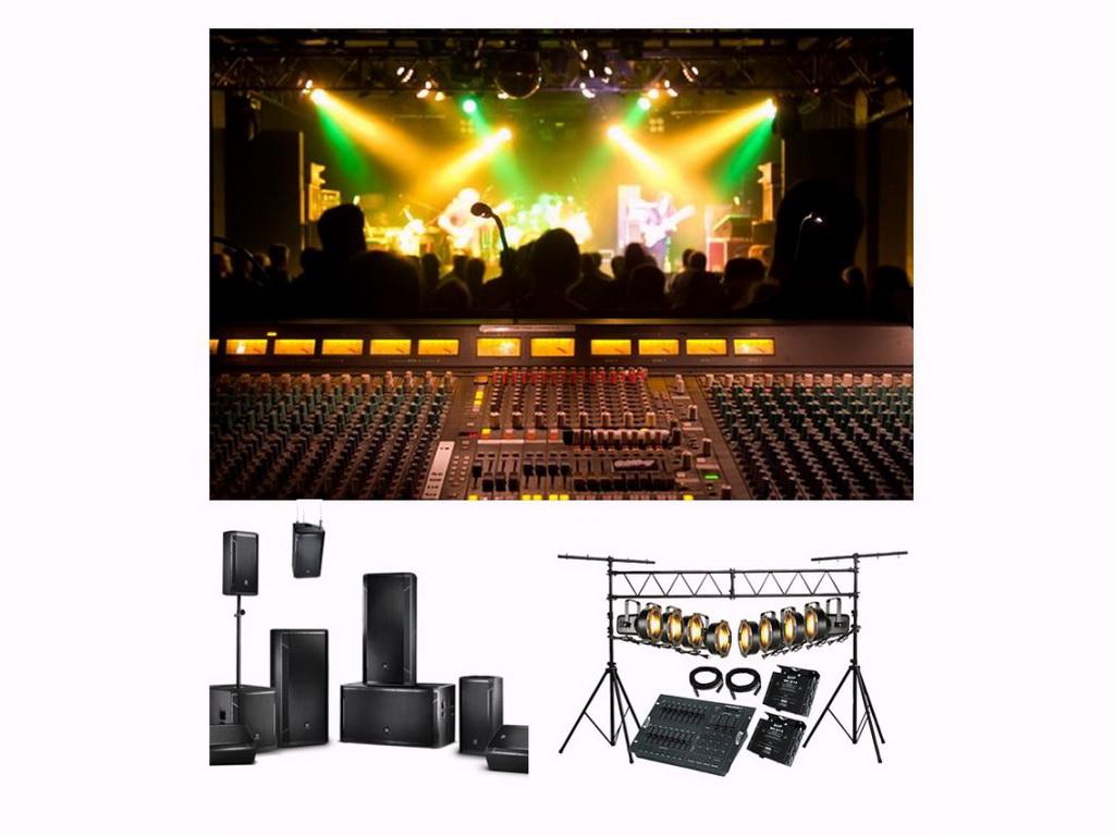 Sound-Scene-Light Systems
