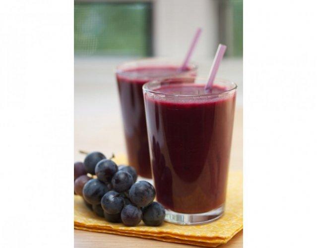 عصير العنب أو التفاح المخمر