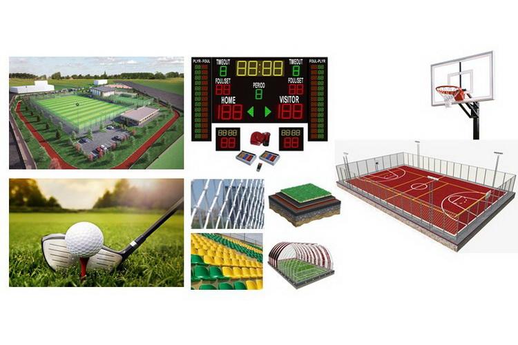 Terrains et equipments de sport