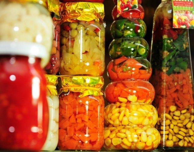 Légumes saumurés