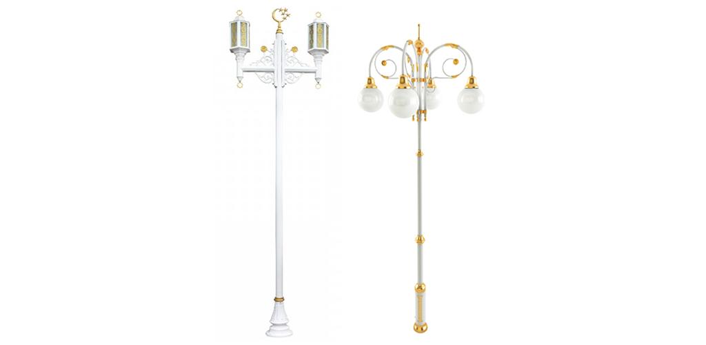 Poteaux décoratifs