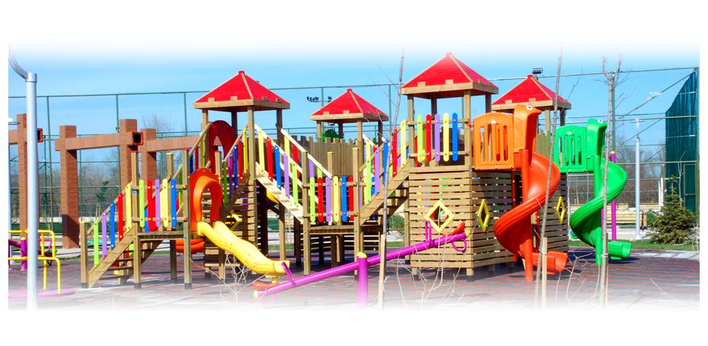 Parc-jardin-Groupes de jeux
